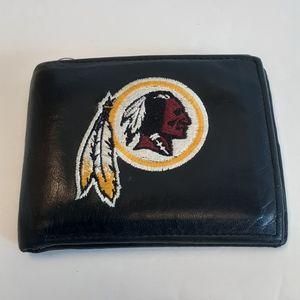 NFL  Redskins Genuine  Leather  Wallet  Bilfol